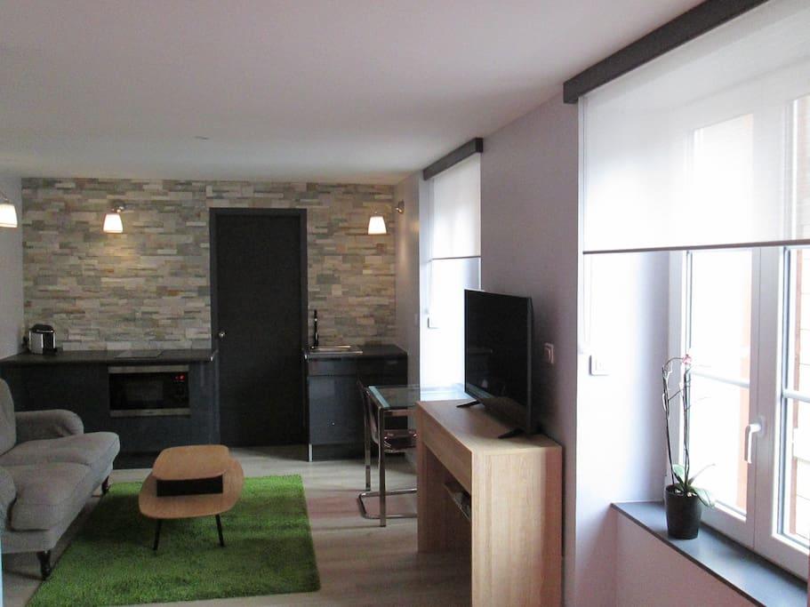 Studio r sidence du parc appartements louer - Piscine belfort residence ...