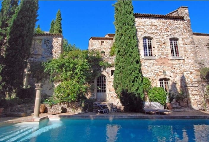 1 bed stone cottage in the grounds of 16thC Castle - Saint-Victor-la-Coste
