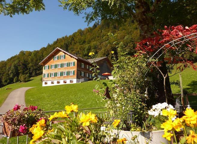 Geräumige südseitige Ferienwohnung - Bolgenach - Condomínio