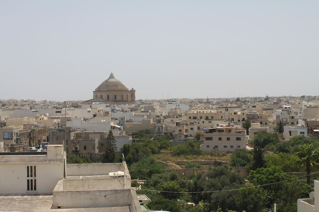 Mosta Dome from terrace