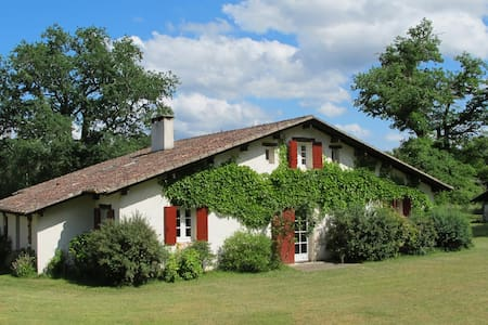 Maison Landaise au coeur d'un airial de 2 hectares