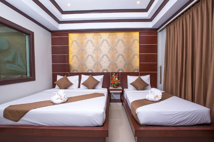 Great Triple Room on Phi Phi Island - Ao Nang