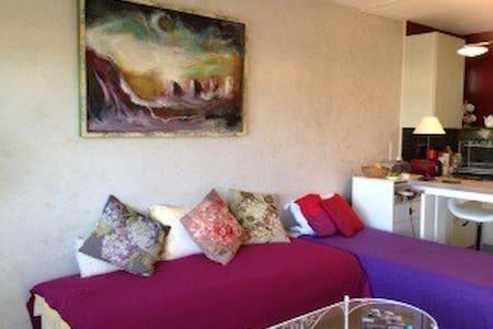 Lumineux studio 31m2 avec balcon - Saint-Maurice