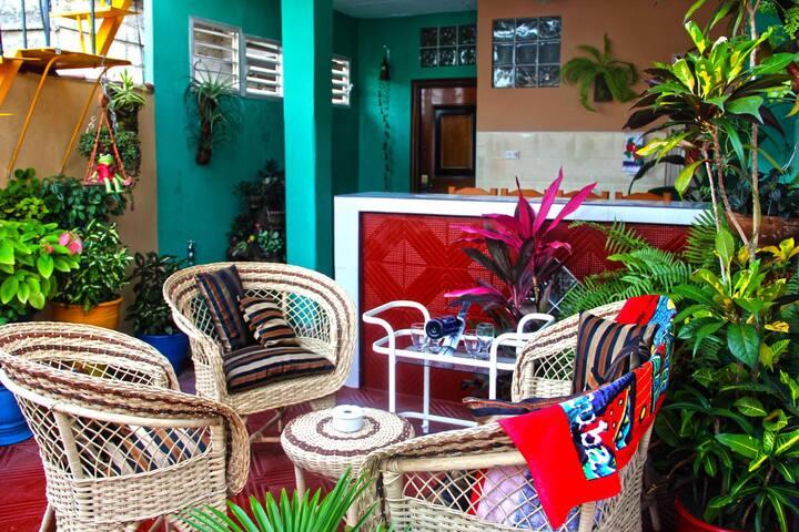 Apartamento duplex Independiente con Terraza