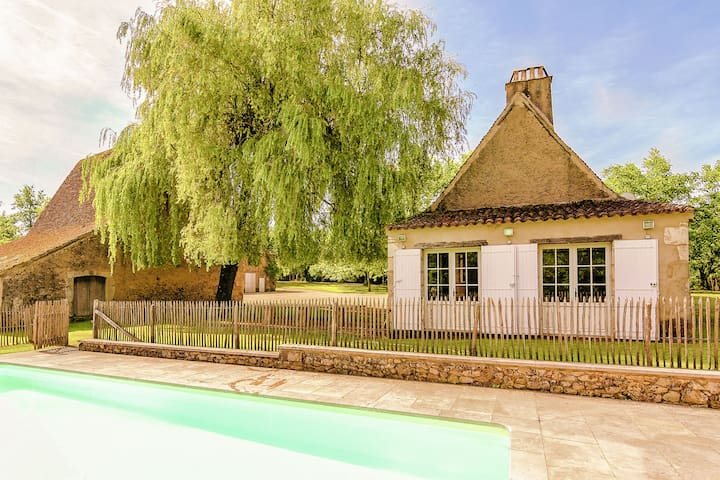 Restored farmhouse with private pool.