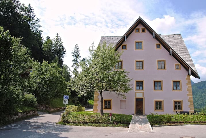 Stylish double room in 300 year old house - Berchtesgaden - Apartamento