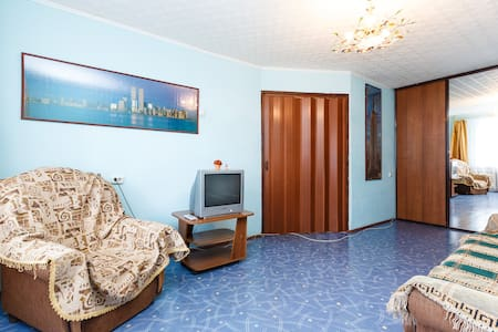 Room type: Entire home/apt Bed type: Pull-out Sofa Property type: Apartment Accommodates: 4 Bedrooms: 1 Bathrooms: 1