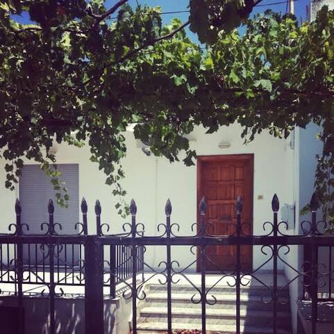 Cozy Two Bedroom Beach Front House - Skala Sotiros - Hus