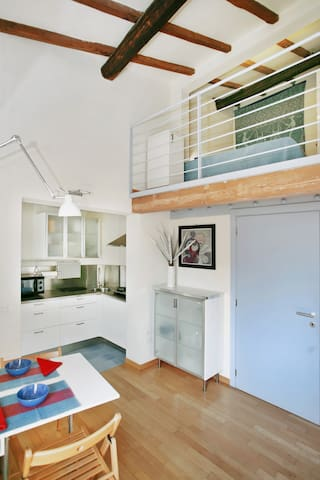 Panoramic loft with lift in the heart of Florence