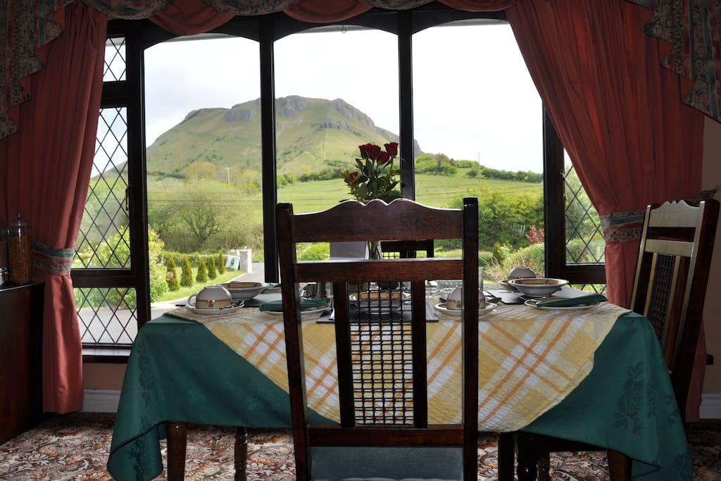 View from the dining room as you enjoy your meal