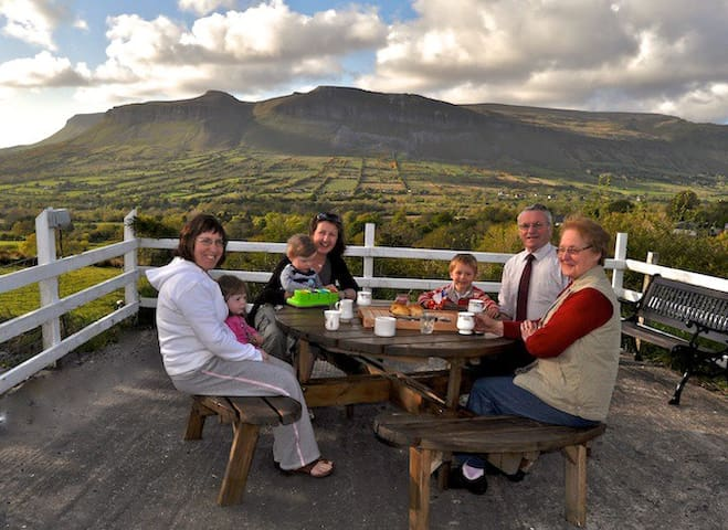 Glenview bed and breakfast - Sligo - Oda + Kahvaltı