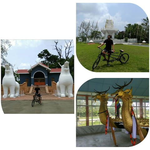 Cycling Tour of Kangla Fort Rs. 50/Hr: Imphal Manipur. N.B. Experience cost not included we will only guide you and charges will be extra at actuals.