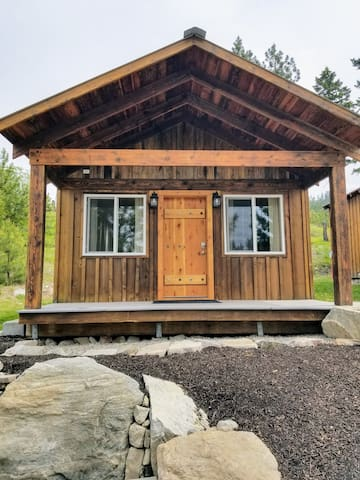 Cabin 1 entrance