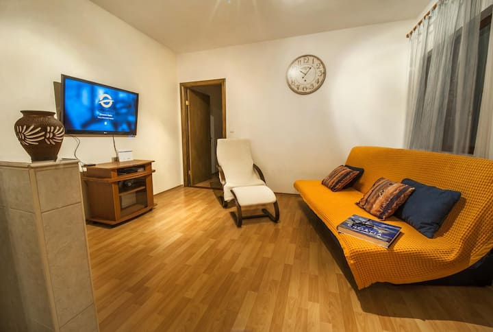 One bedroom apartment with balcony Gustirna, Trogir (A-18113-a)