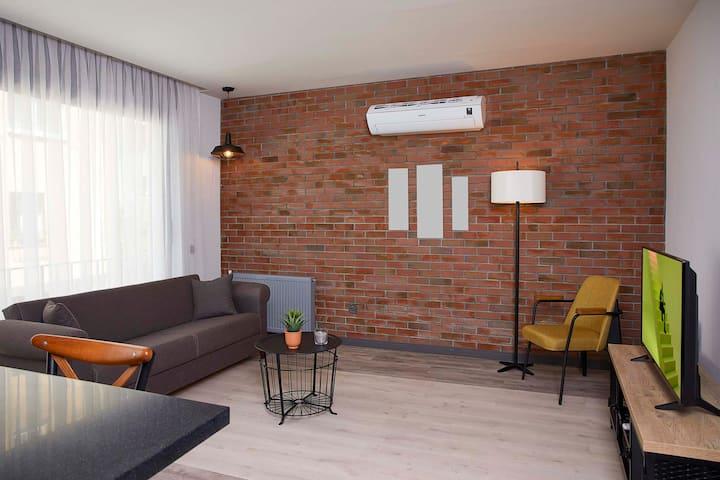 İzmir Alsancak merkezde luks 2+1 rezidans daire