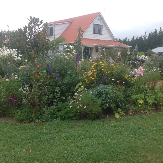 House with gardens
