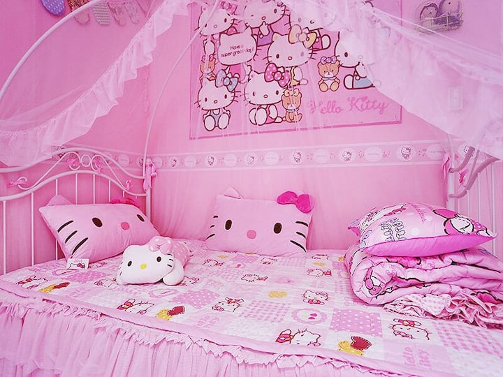 Hongdae St 1 minute hellokitty 2bed