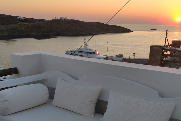 Suite by the sunset in Cyclades 2 - Kythnos