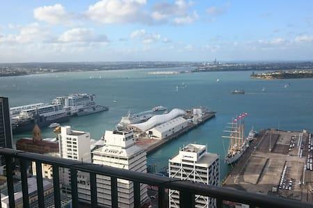 34th floor views in Auckland City Centre - SO GOOD - Auckland