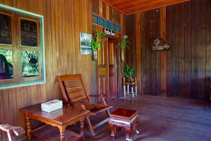 Angkor Wooden Khmer House - Krong Siem Reap - บ้าน