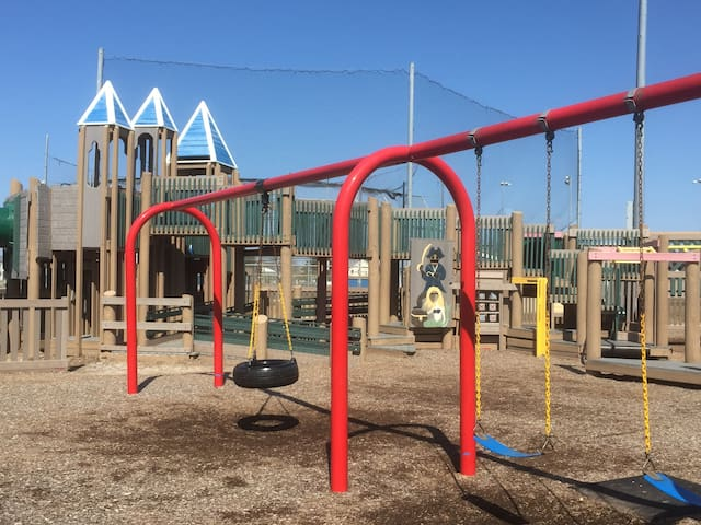 """Kids playground """"Shark Park' -Free and Fun! and nearby"""