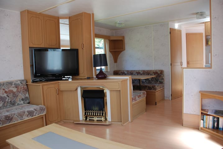 Static Caravan for Rent in quiet location. - Montrose - Chalé