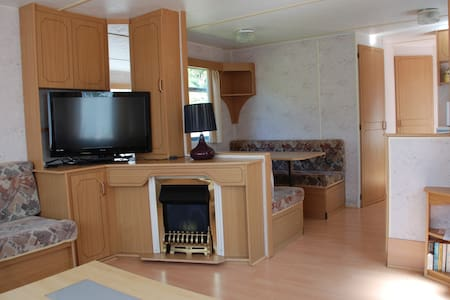 Static Caravan for Rent in quiet location. - Montrose - กระท่อมบนภูเขา