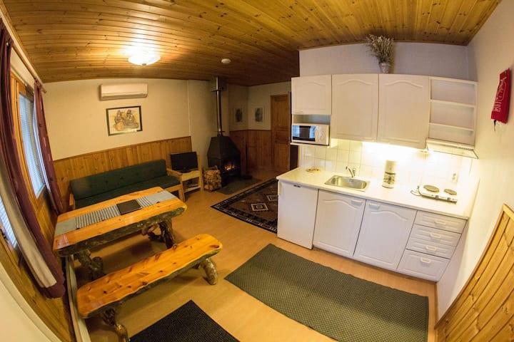 Row house apartment in Kaamanen, Inari