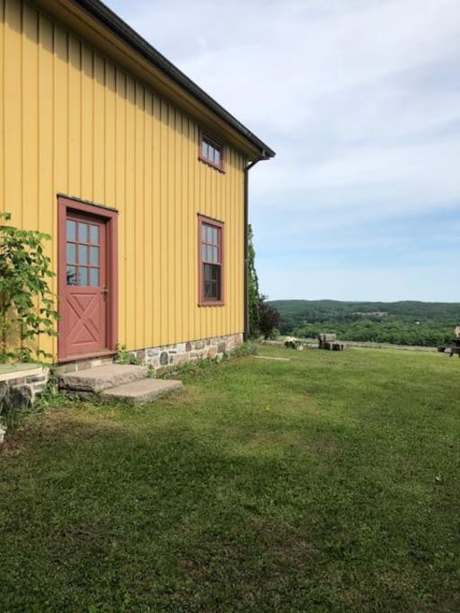 Coach House and view
