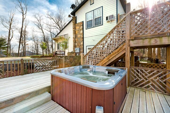 Asheville's Island In The Sky Pet Friendly 588033 - Weaverville - Apartment