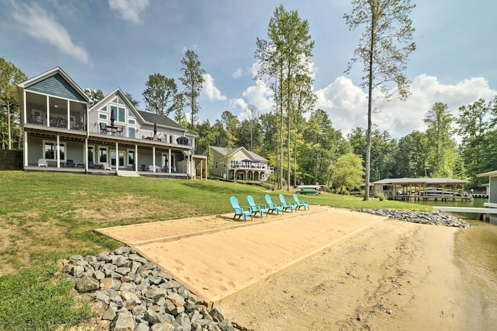 Waterfront Lake Anna Family Home w/ Dock & Kayaks!