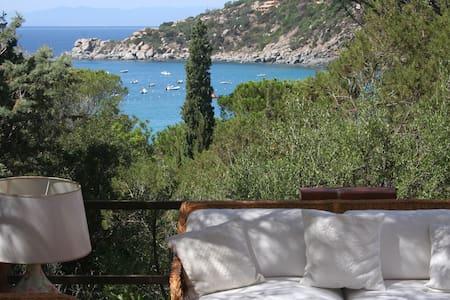 Villa vista mare 90m dalla spiaggia - Torre Delle Stelle