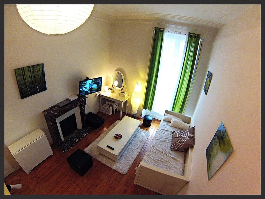 Location studio enti rement meubl hyper centre Location appartement angers meuble