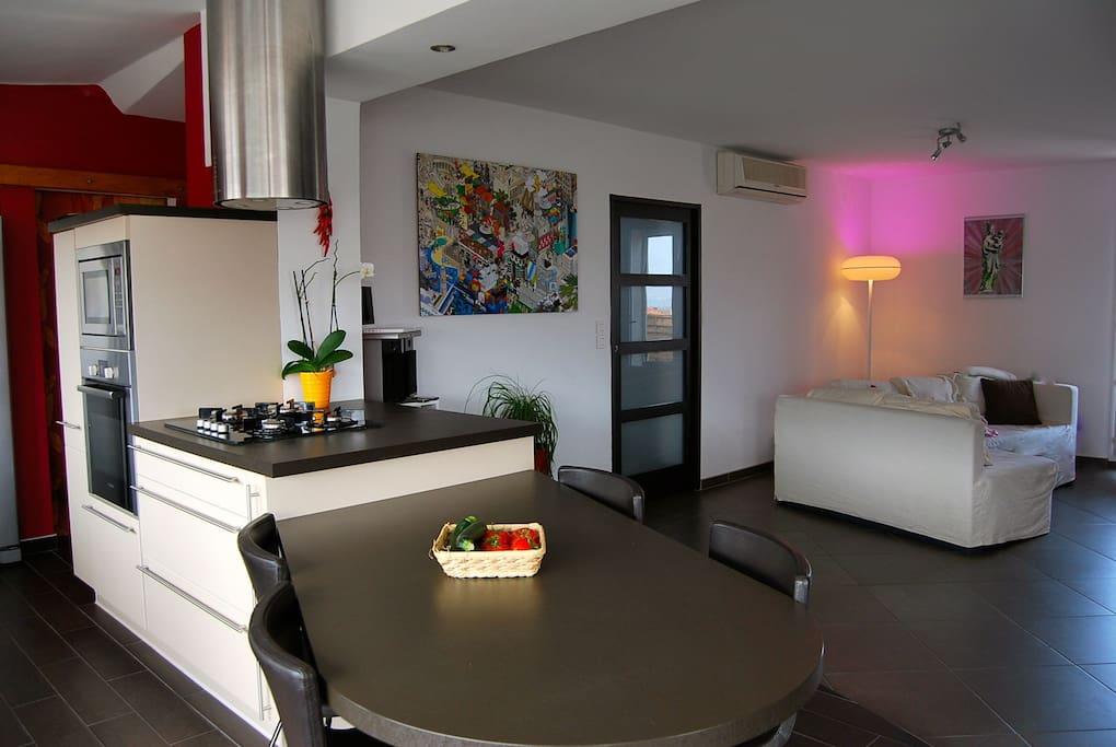 Appartment design amazing terrace apartments for rent for Apartment design 90m2