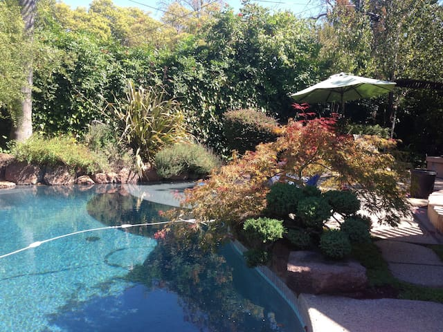 resort backyard private houses for rent in sacramento california