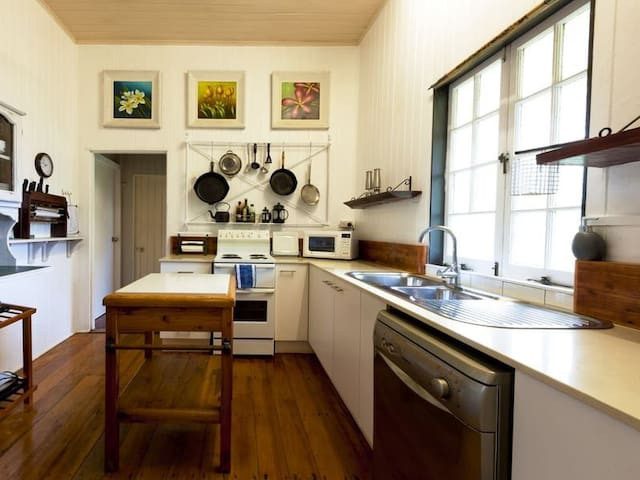 Our lovely kitchen with dishwasher!