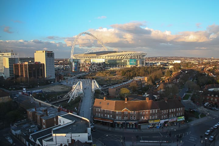 Room with a View nr Wembley Stadium - Wembley - Apartamento