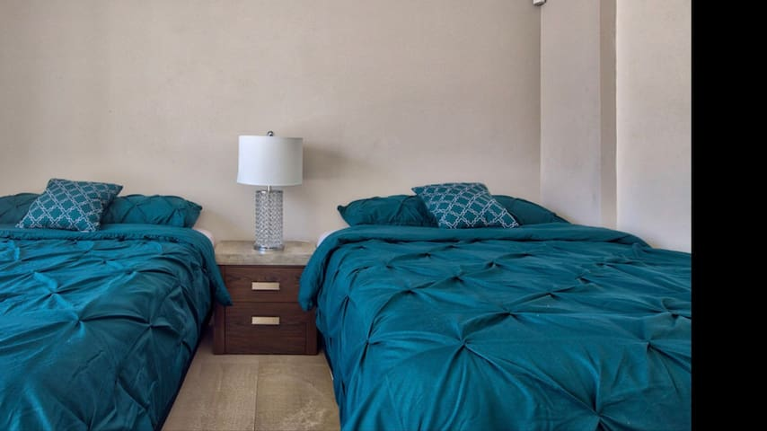 Second room. 2 queen size beds