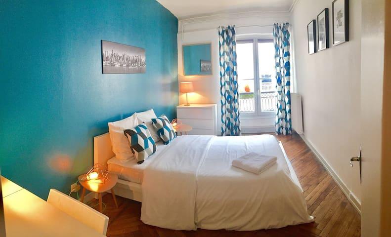 Bellecour, Presqu'île. Chambre privée (2p) - Lió - Pis