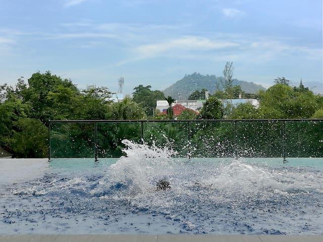 Wonderful Phuket view, big pool - ตำบล วิชิต - Daire