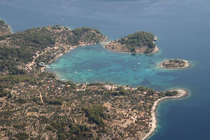 Beach House Stunning Gradina Bay - Vela Luka - Huis