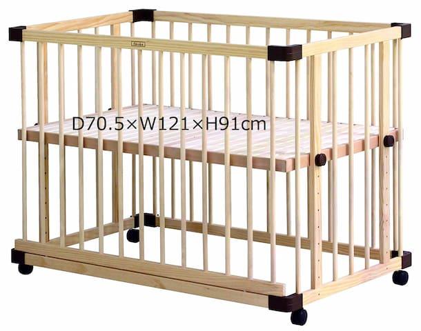 Cot/crib dimention