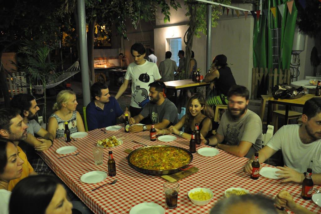 Cenas comunes en el jardín