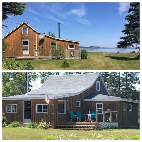Oceanfront Parrsboro Cottage!! Beach Access!! 3bed