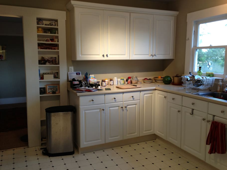 Full kitchen includes gas stove