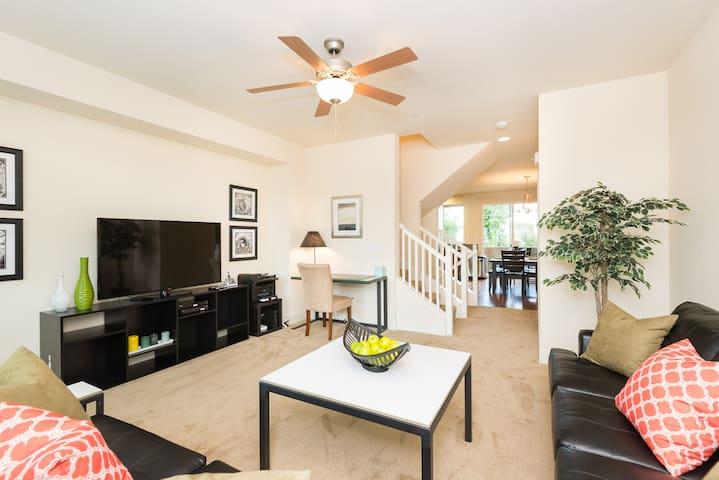 3 BDRM Exec Home near Stanford