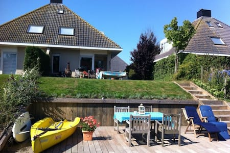 Great Holiday Location in Friesland - Hemelum - 獨棟