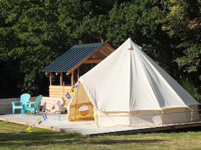 Bell tent by the beach - Fouesnant - Tält