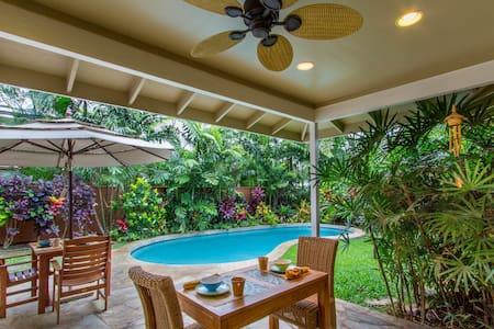 Charming 4BD w Pool by Kailua Beach - Casa