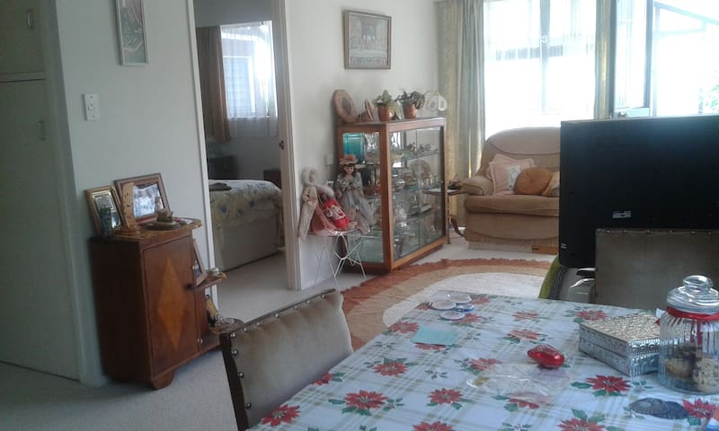 Self contained sunny flat 15 mins from airport - Auckland - Appartamento